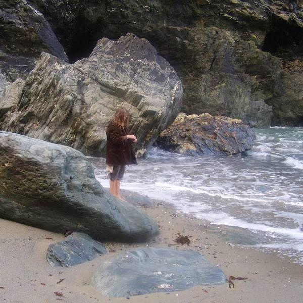 Merlin's Cave, Tinagel, Cornwall - Geraldine Green